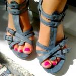 Bata – Riemen Leder Sandalen