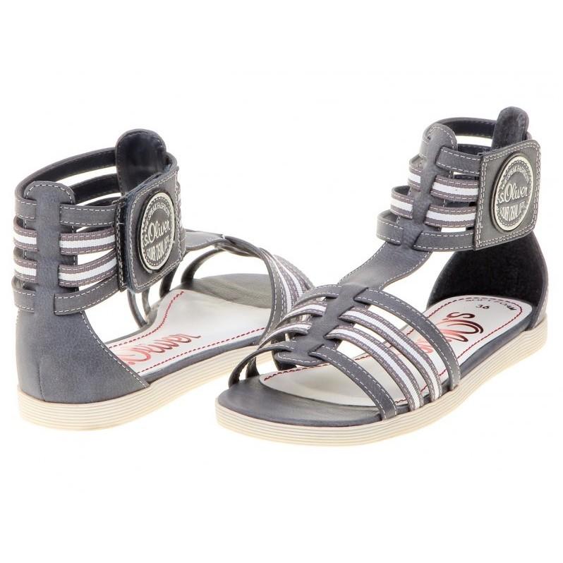 release date: 5934f 68ee5 Damen elegante sandalen s.Oliver 28126 blue – ideale Schuhe ...